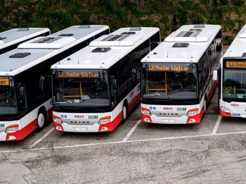 OÖ Verkehrsverbund präsentiert neue Fahrpläne: Die neuen modernen Busse des OÖVV
