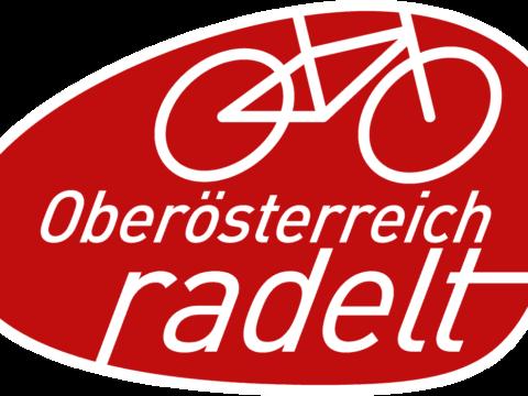 Logo der Aktion Oberösterreich radelt.