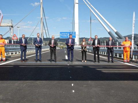 Eröffnung VOEST-Brücke