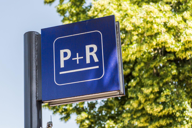 Park & Ride Schild