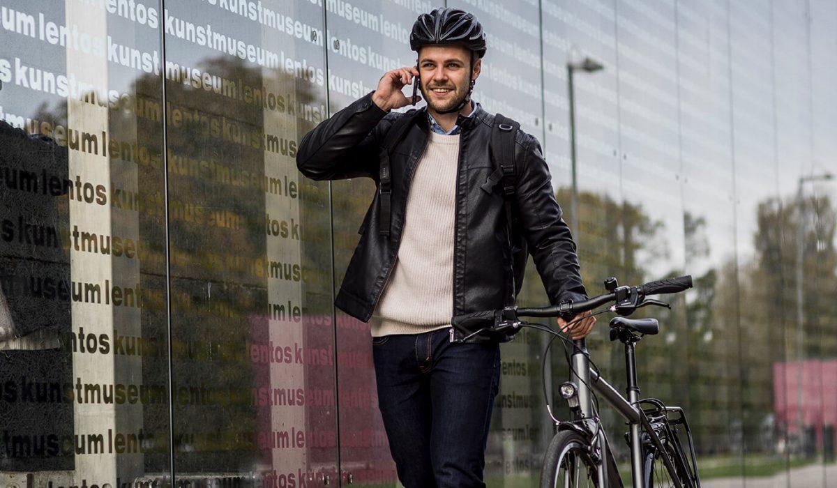 Mit dem Fahrrad kommen Sie aktiv und umweltfreundlich an Ihr Ziel